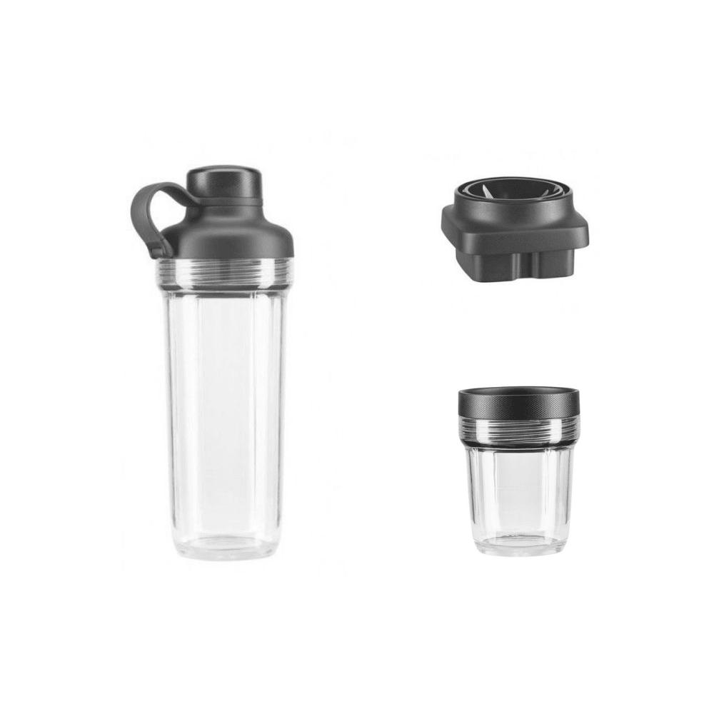 Малая чаша и дорожный стакан с ножевым блоком для блендера Artisan K400